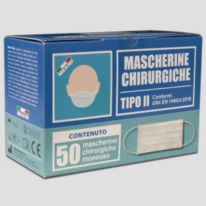 mascherina 50 pz